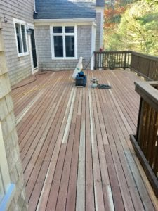 Deck Refinishing and Staining