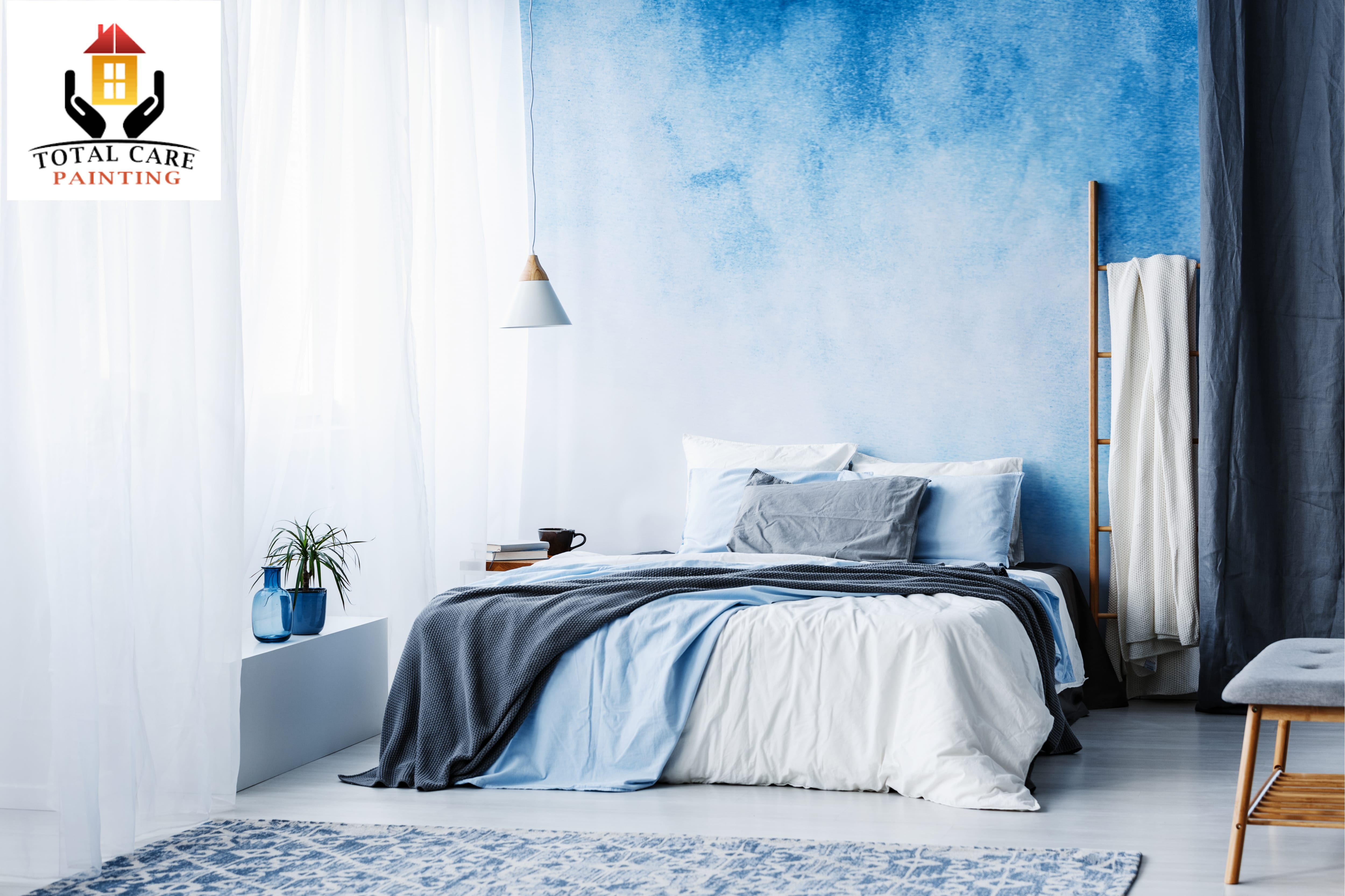 ombre wall interior house painting services