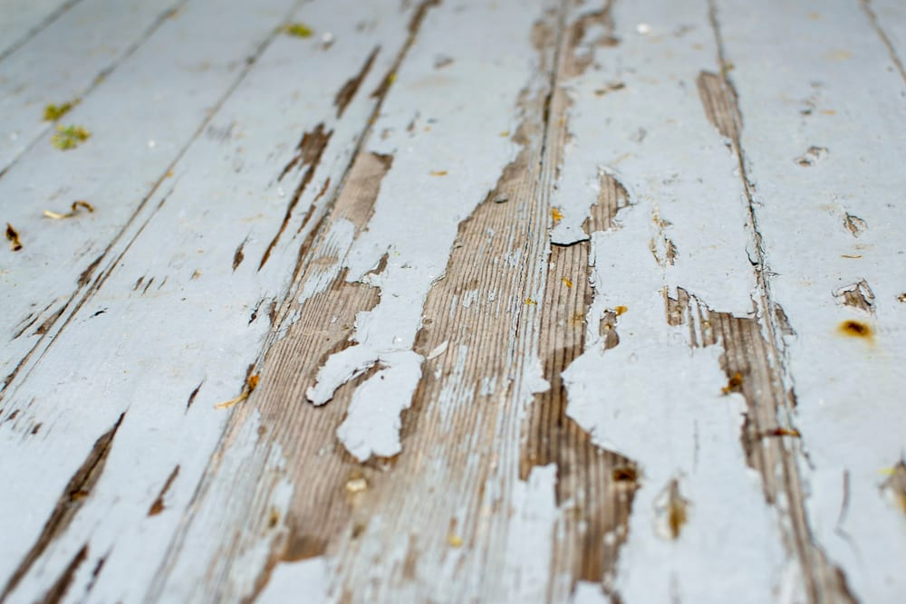 Removing Paint From Your Deck Using A Pressure Washer
