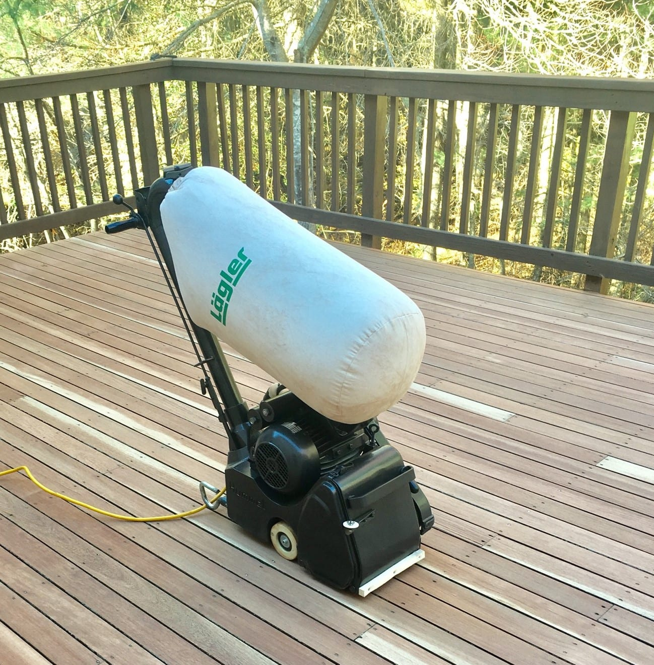 Best Machinery For Deck Staining And Refinishing In Cape Cod