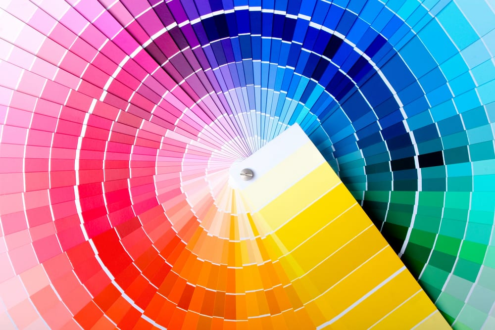 regular color wheel
