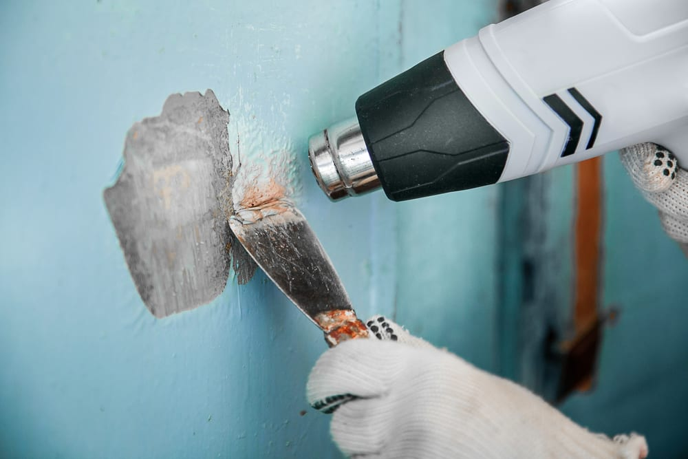 heat gun for paint removal