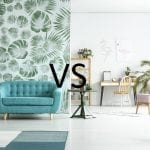 Wallpapering VS Painting A House– Pros and cons