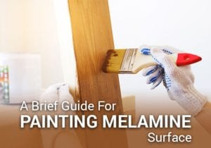 paint for melamine surface
